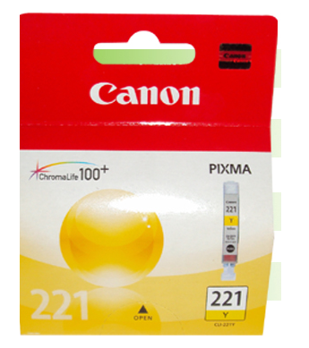 Canon CLI-221Y Cartucho de Inyección de Tinta Amarillo