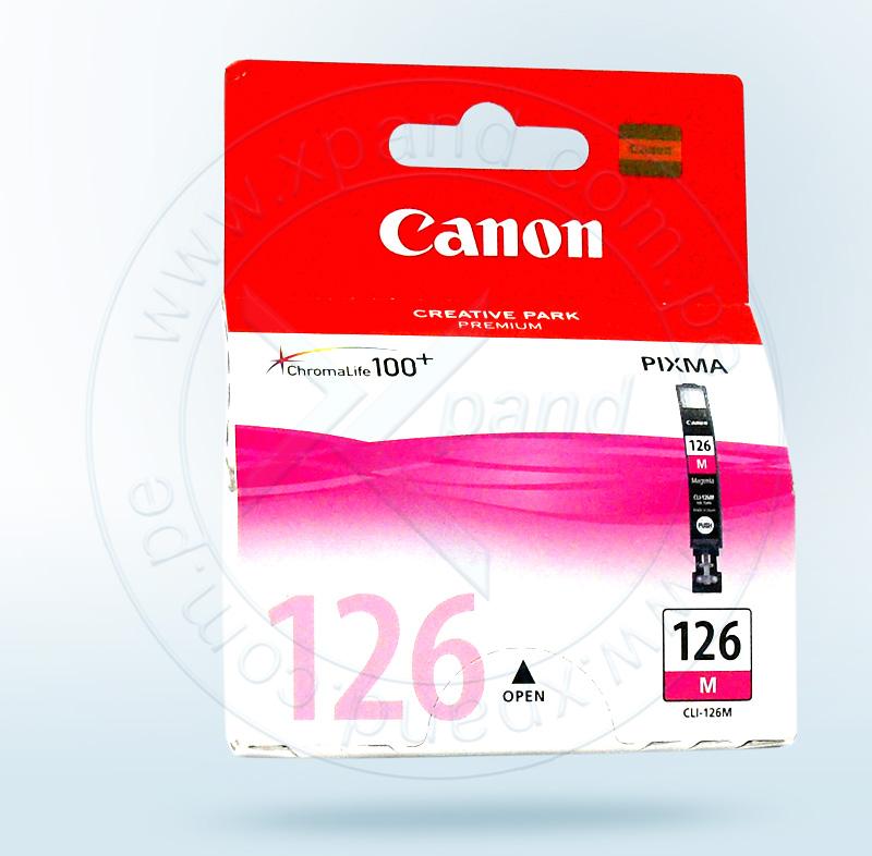 Canon CLI-126 Cartucho de Inyección de Tinta Magenta