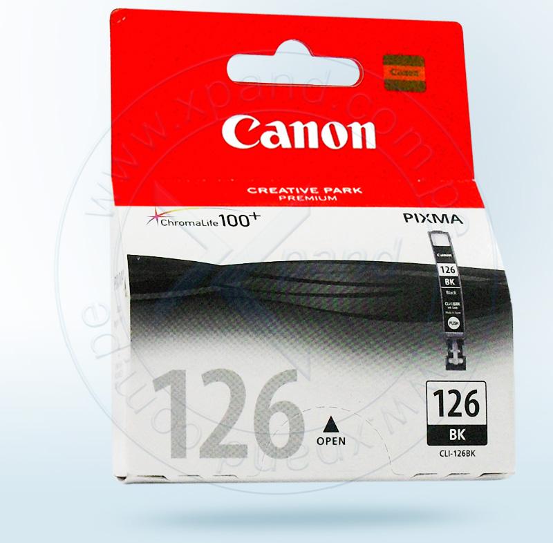 Canon CLI-126 Cartucho de Inyección de Tinta Negro