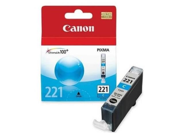 Canon CLI-221C Cartucho de Inyección de Tinta Cyan