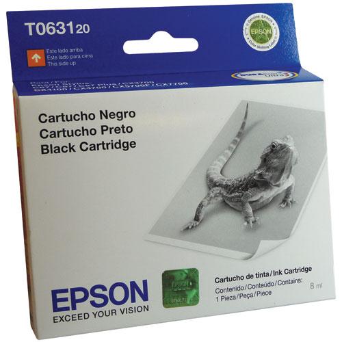 Epson T063120 Cartucho de Inyección de Tinta Negra