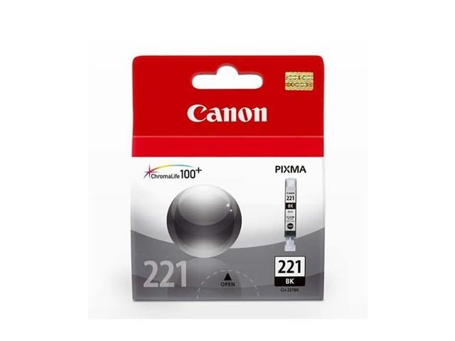 Canon CLI-221K Cartucho de Inyección de Tinta Negro