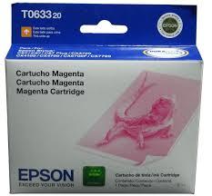 Epson T063320 Cartucho de Inyección de Tinta Magenta