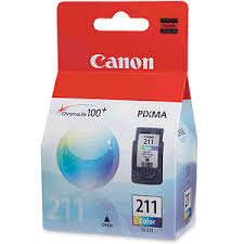 Canon CL-211 Cartucho de Inyección de Tinta Tri Color