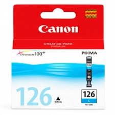 Canon CLI-126 Cartucho de Inyección de Tinta Cyan