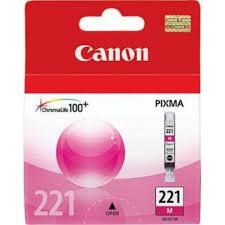 Canon CLI-221M Cartucho de Inyección de Tinta Magenta
