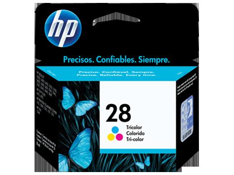 Tinta HP 28 Cartucho de Inyección de Tinta Tricolor