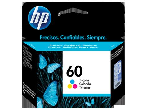 Tinta HP 60 Cartucho de Inyección de Tinta Tricolor