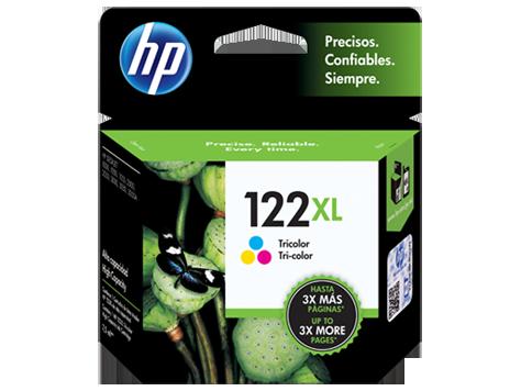 Tinta HP 122XL Cartucho de Inyección de Tinta Tricolor