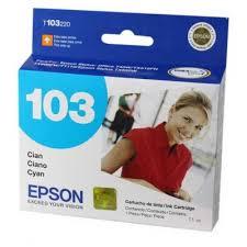 Epson T103220 Cartucho de Inyección de Tinta Cian