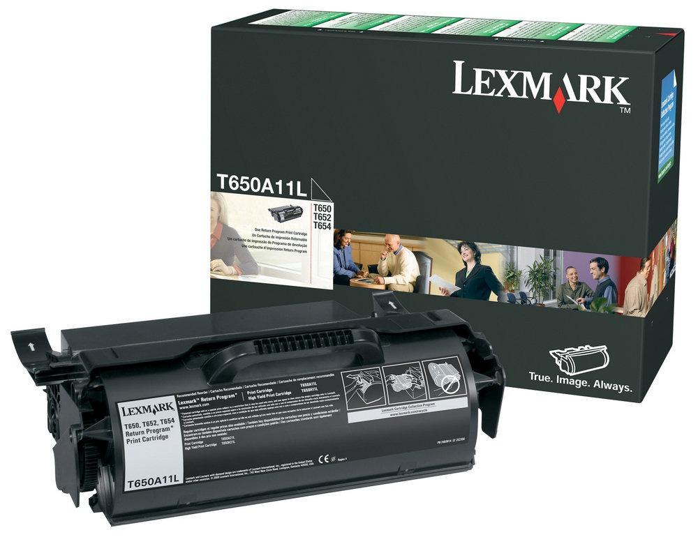 Tóner Lexmark T650A11L