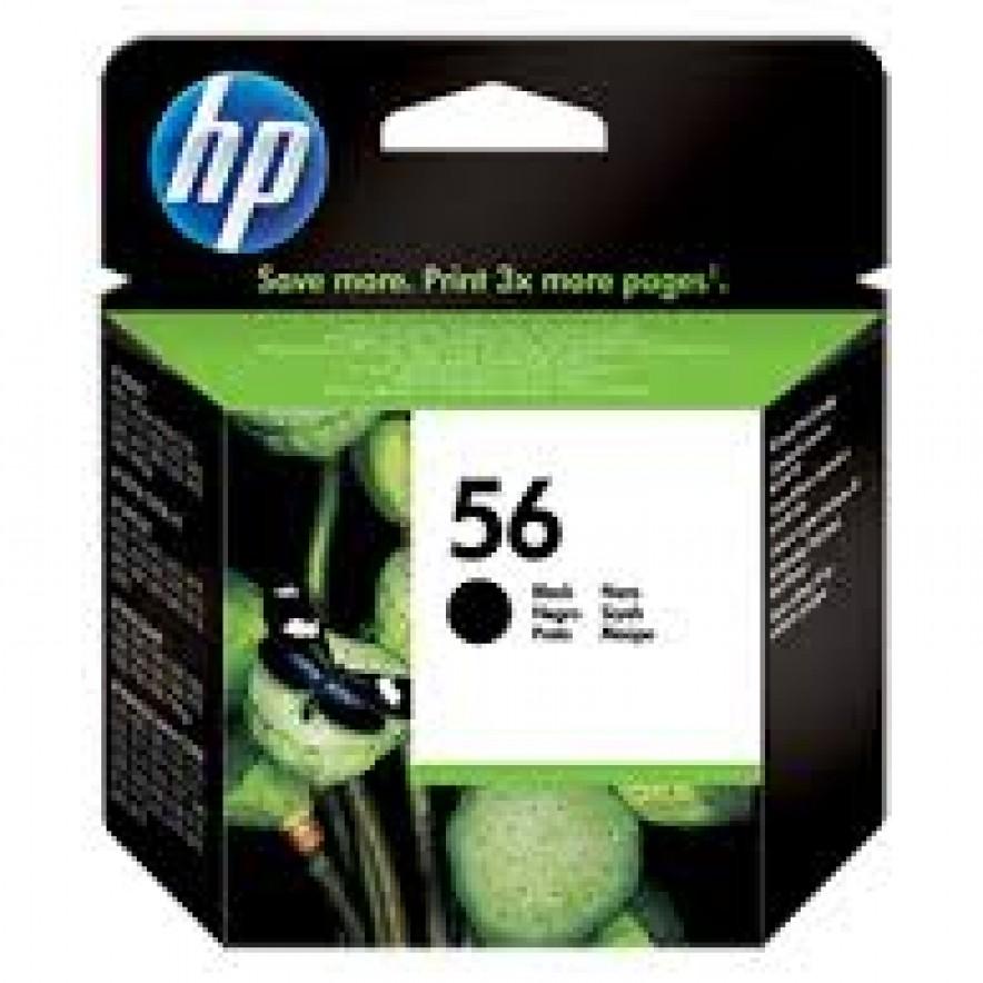 Tinta HP 56 Cartucho de Inyección de Tinta Negro