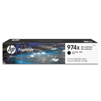 Cartucho Original Pagewide HP 974x de Alta Capacidad Negro