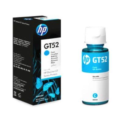 Botella de Tinta Original Cyan HP GT52